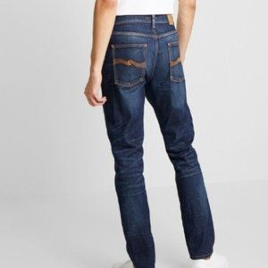 NUDIE button fly Dry Selvedge Regular Ralf Jeans